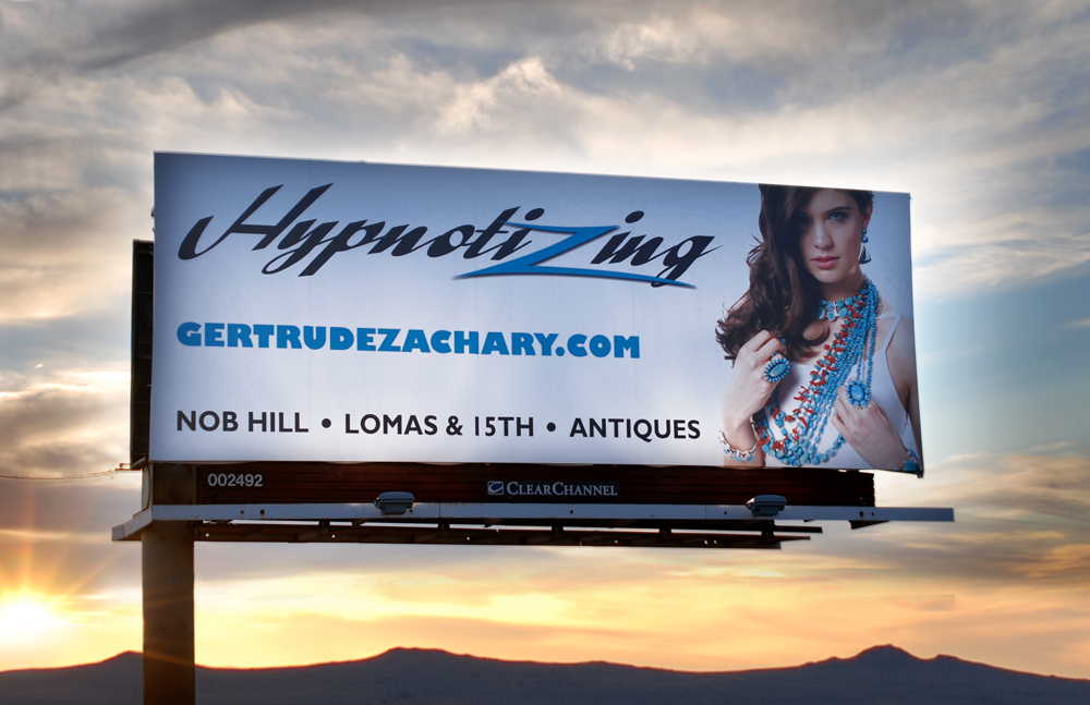 Q Creative Branding Advertsign Albuquerque Gertrude Zachary Billboard1