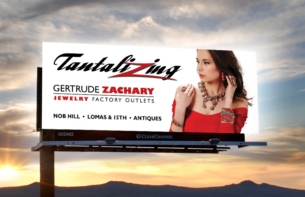 Q Creative Branding Advertsign Albuquerque Gertrude Zachary Billboard2